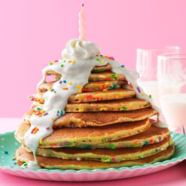 Pancake Birthday Cake Birthday Cake Pancakes Recipe Recipe For Managing Pcos And Pregnancy