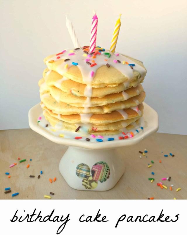 Pancake Birthday Cake Birthday Cake Pancakes