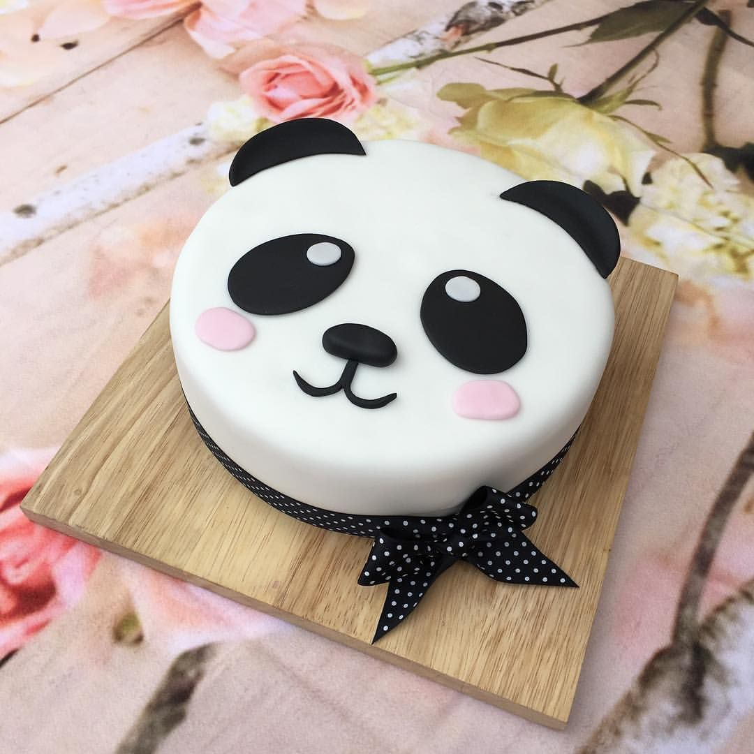 35+ Great Photo of Panda Birthday Cake