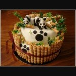 Panda Birthday Cake Buy Panda Birthday Cake For Boys Online At Best Prices In Guntur