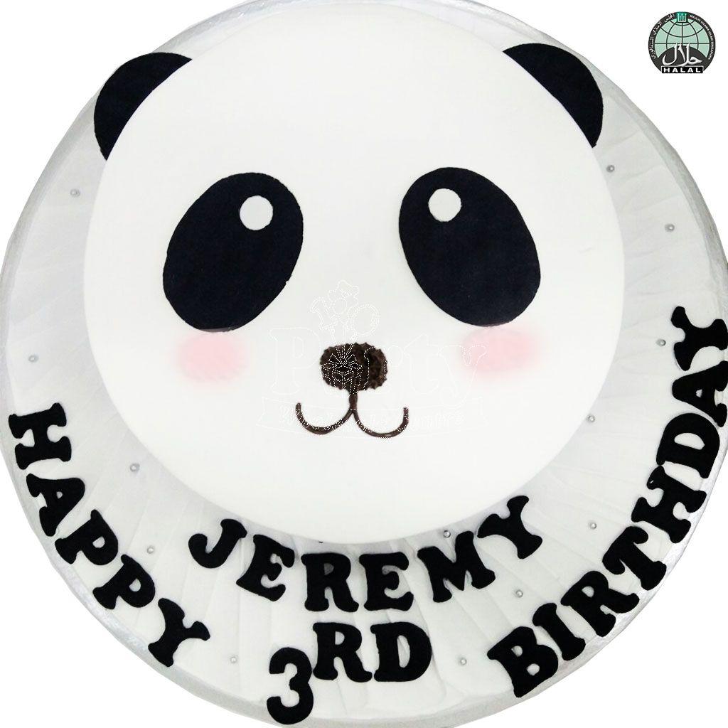Panda Birthday Cake Panda Bear Birthday Cake Party Wholesale Singapore