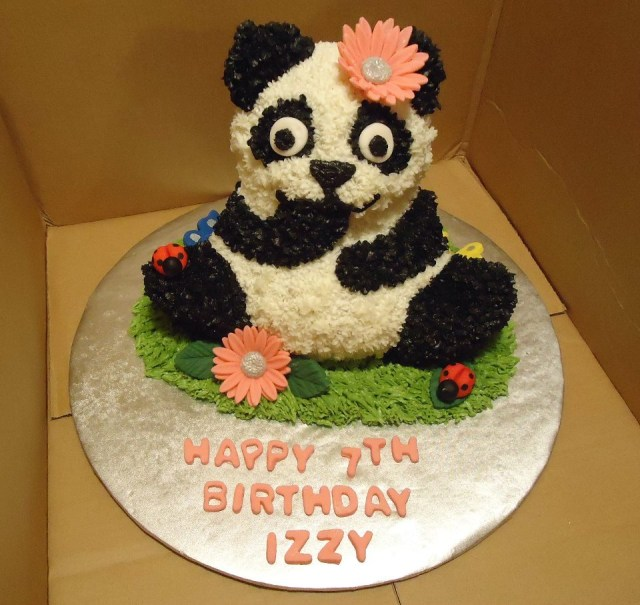 Panda Birthday Cake Panda Birthday Cake Km Cakes