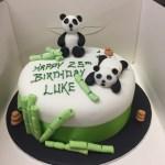 Panda Birthday Cake Panda Birthday Cake M Rays Bakery