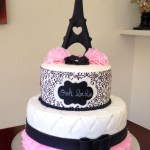 Paris Birthday Cake Como Fazer Bolo De Aniversrio Tema Paris Beautifulamazing Cakes