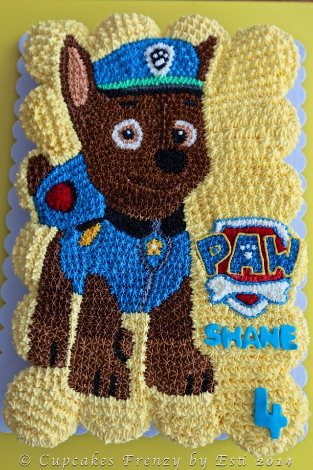 Paw Patrol Birthday Cake Toppers Cupcakes Paw Patrol Cupcake Cake Paw Patrol Vanilla Birthday Cake