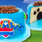 Paw Patrol Birthday Cake Toppers How To Make A Paw Patrol Cake From Cookies Cupcakes And Cardio Youtube
