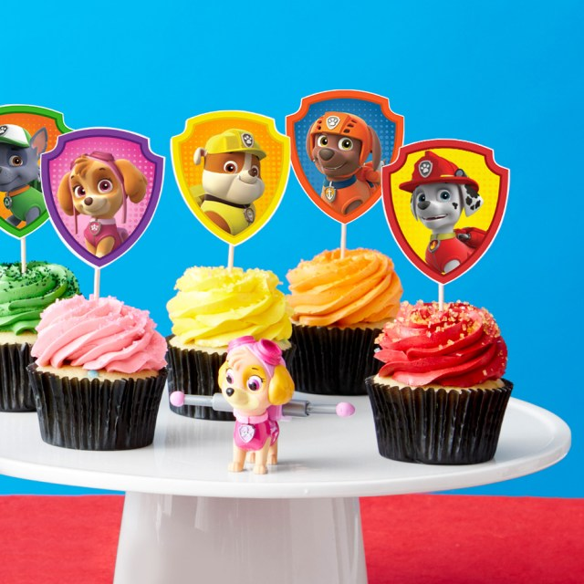 Paw Patrol Birthday Cake Toppers Paw Patrol Cupcake Toppers Nickelodeon Parents