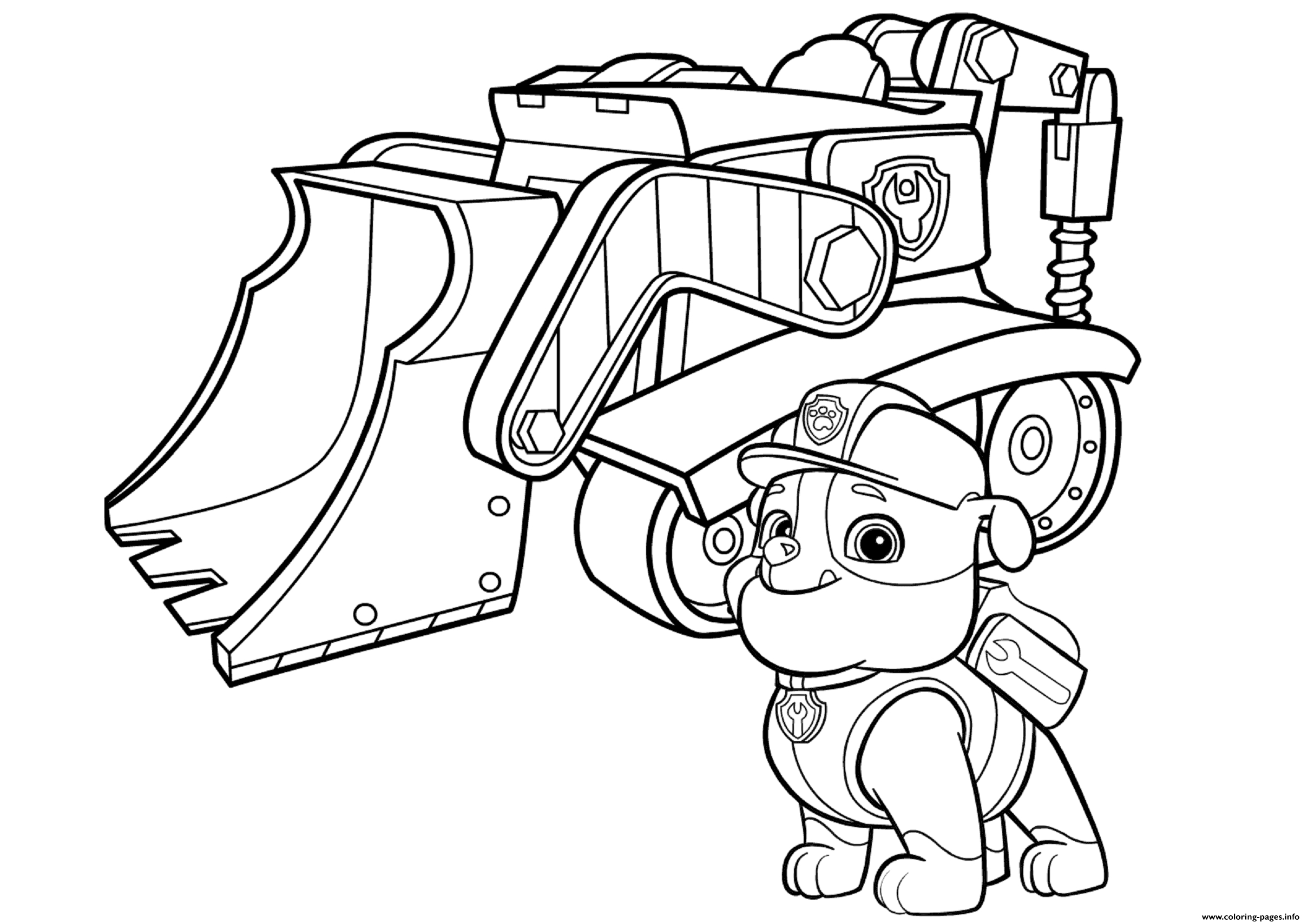 paw patrol coloring pages free paw patrol coloring pages