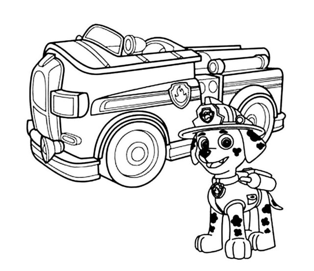 Paw Patrol Coloring Pages Paw Patrol Coloring Pages Lezincnyc