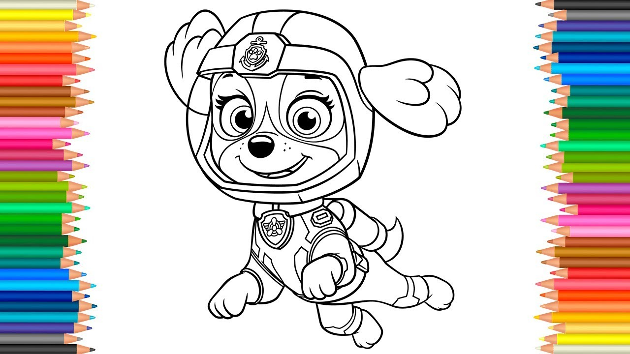 Paw Patrol Coloring Pages Skye Sea Patrol Coloring Pages ...