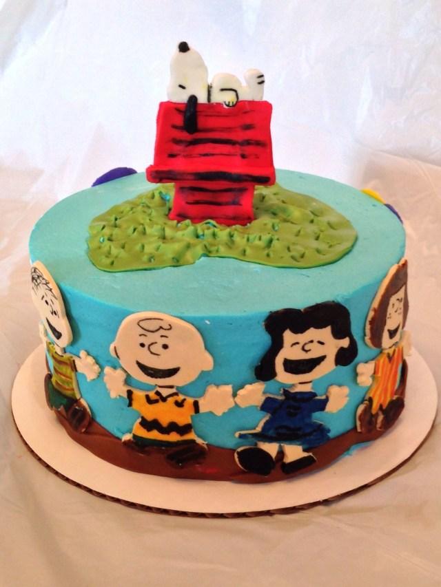 Peanuts Birthday Cake Peanuts Cake Cups N Cakes Pinterest Cake Peanut Cake And