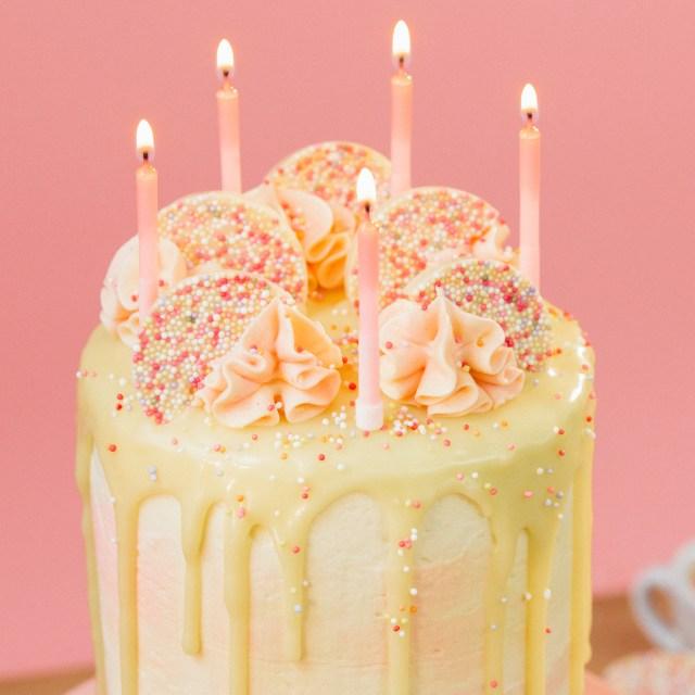 Picture Of Birthday Cakes Birthday Cake Hack Recipe Tastemade