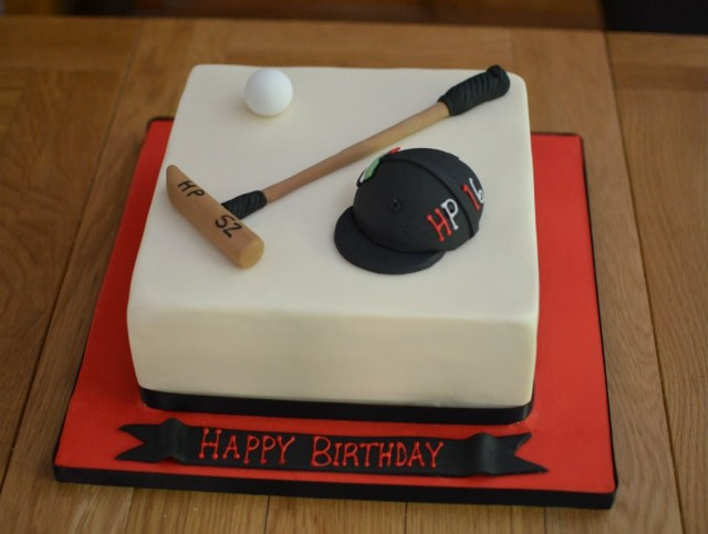 Polo Birthday Cake Polo Cake