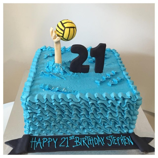 Polo Birthday Cake Water Polo Cake Three Sweeties