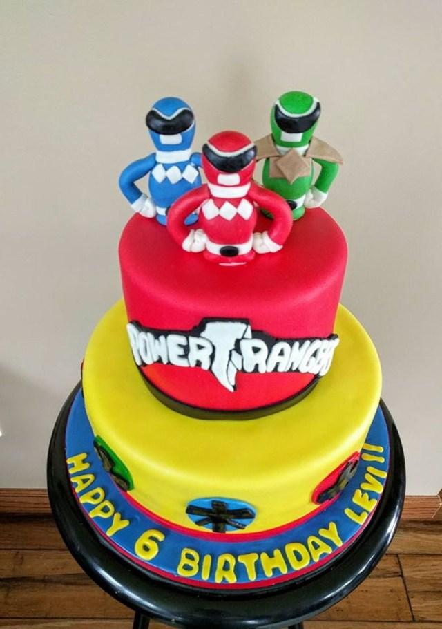 Power Ranger Birthday Cakes Power Ranger Birthday Cakes Pinterest Power Ranger Birthday