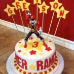 Power Ranger Birthday Cakes Power Rangers Birthday Cake Sugar Love Cake Design Pinterest