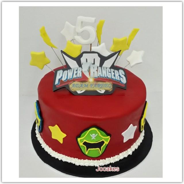 Power Ranger Birthday Cakes Power Rangers Cake Jocakes