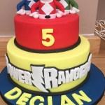Power Rangers Birthday Cake Power Rangers Cake Ryans 4th Bday Pinterest Power Ranger Cake