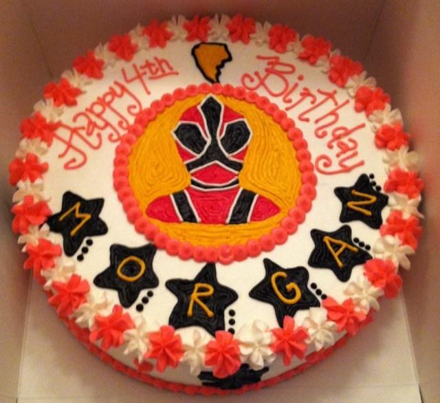 Power Rangers Birthday Cake Sweet Treats Susan Power Rangers Samurai Birthday Cake