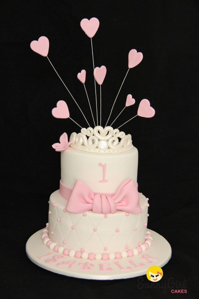 Princess 1St Birthday Cake Princess First Birthday Cake Gateau 3d Pinterest Birthday Cake