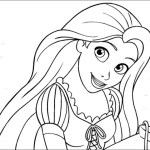 Princess Coloring Page Disney For Girls Rapunzel Ballet Princess Coloring Sheet Coloring