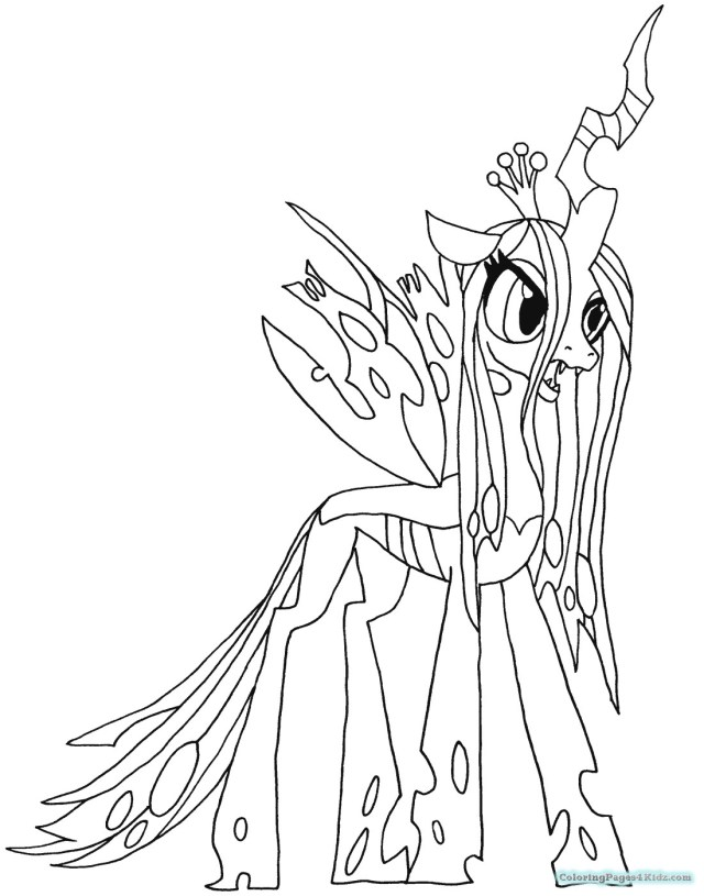 Exclusive Photo of Princess Luna Coloring Page ...