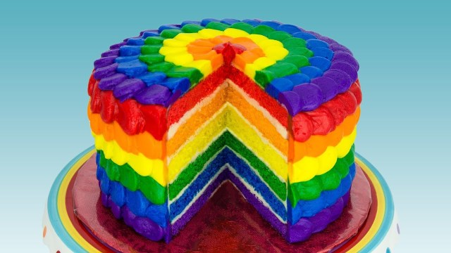 Rainbow Birthday Cake Rainbow Cake How To Make A Rainbow Cake Cookies Cupcakes And