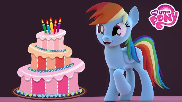 Rainbow Dash Birthday Cake Make Birthday Cake Cooking Game With My Little Pony Rainbow Dash