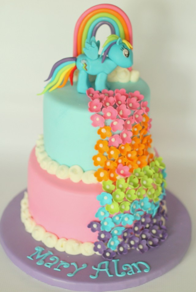 Rainbow Dash Birthday Cake Rainbow Dash Cakecentral
