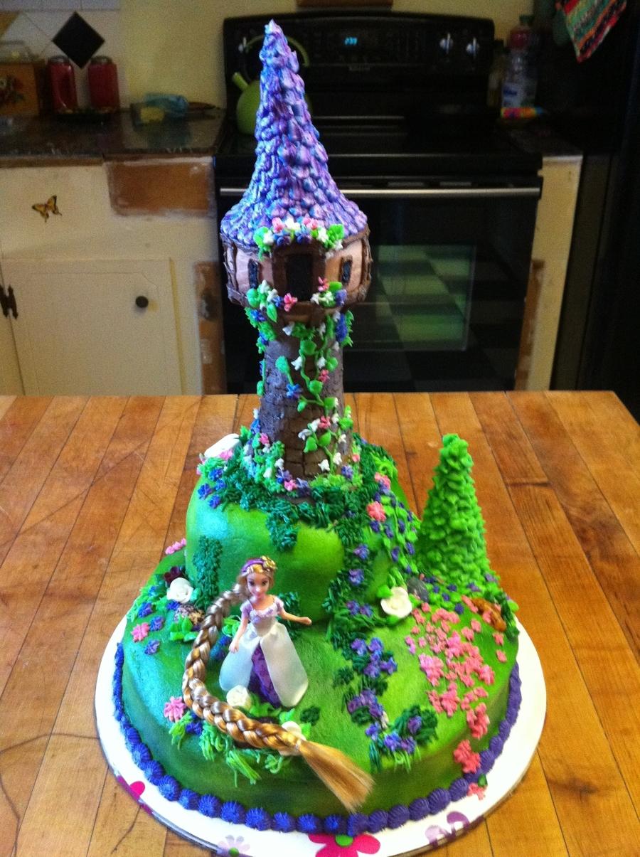 Rapunzel Birthday Cake Tangled Birthday Cake Cakecentral
