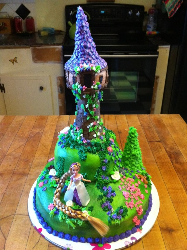 Rapunzel Birthday Cake Tangled Birthday Cake Cakecentral
