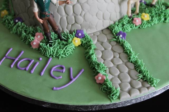 Rapunzel Birthday Cake Tangled Rapunzel Birthday Cake Buttercream Bacon