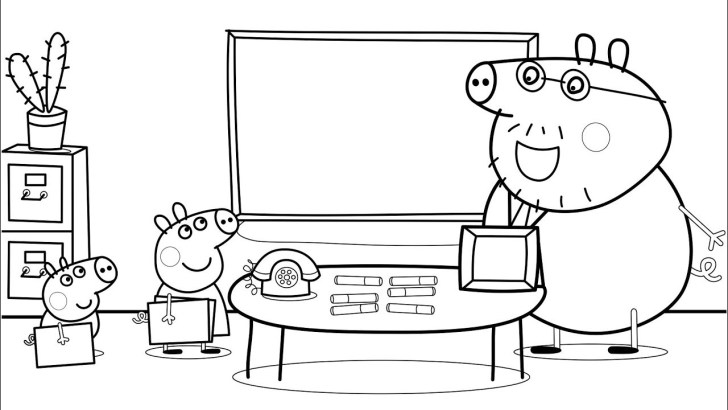 30+ Awesome Photo of School Coloring Pages