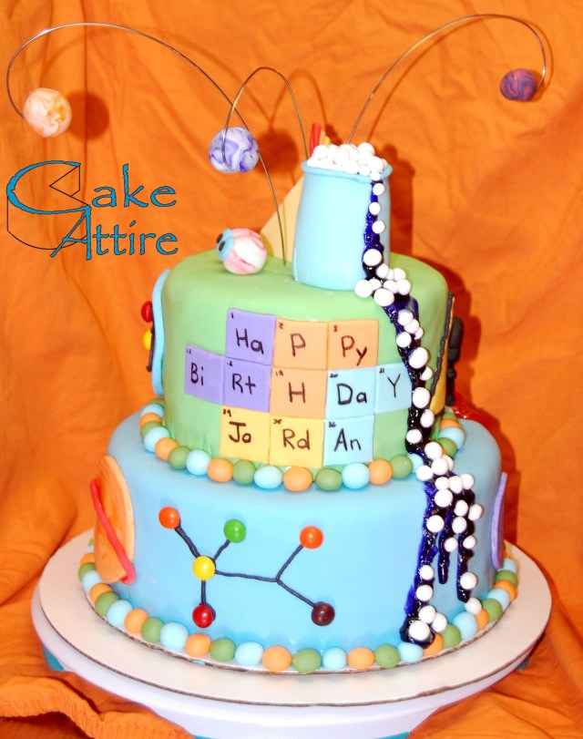 Science Birthday Cake Mad Science Birthday Cake Cakecentral Holidays And Events