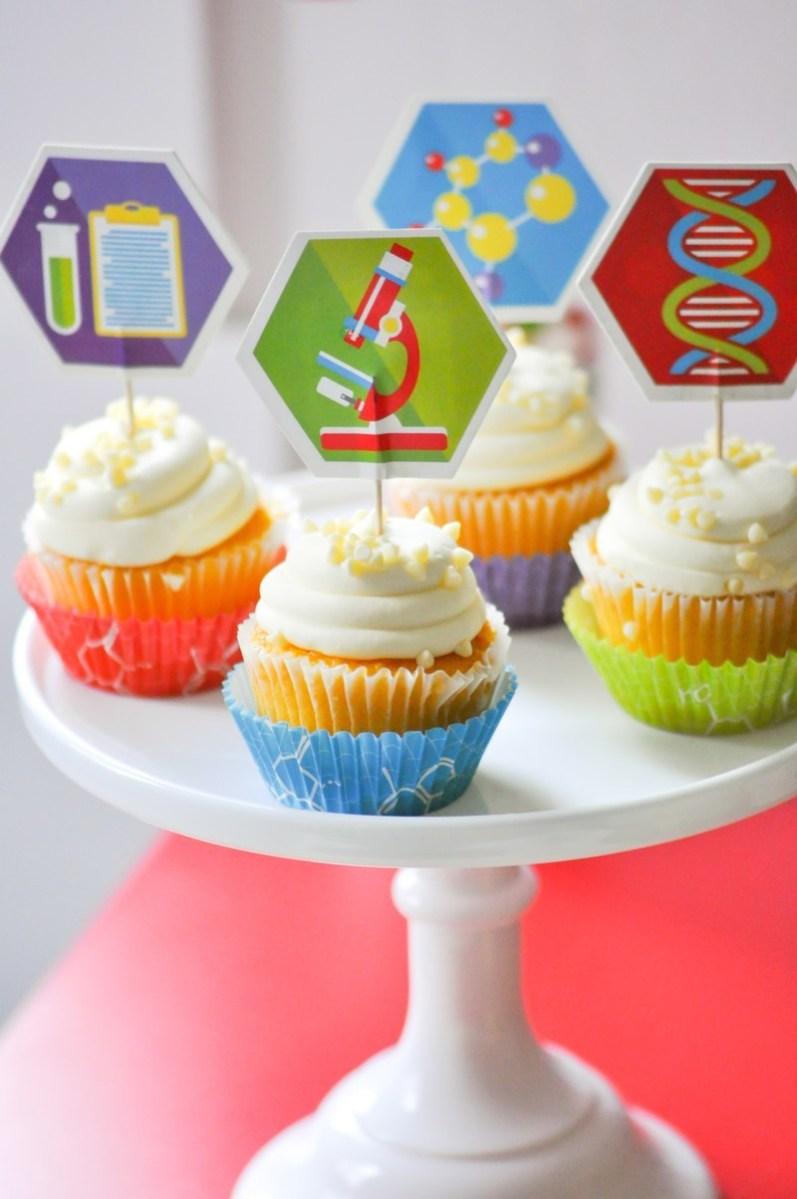 Science Birthday Cake Science Birthday Party
