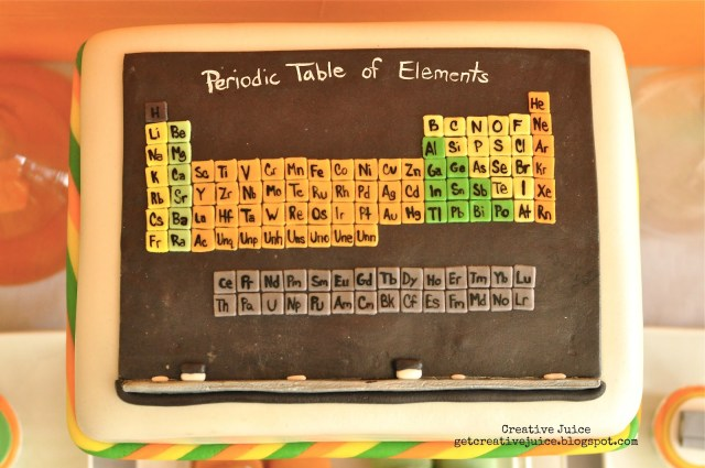 Science Birthday Cake Science Party Food And Dessert Ideas Creative Juice