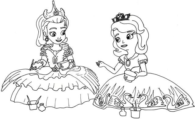 Sofia The First Coloring Page Princessa Sofiya No 11 For Sophia The First Coloring Page Coloring