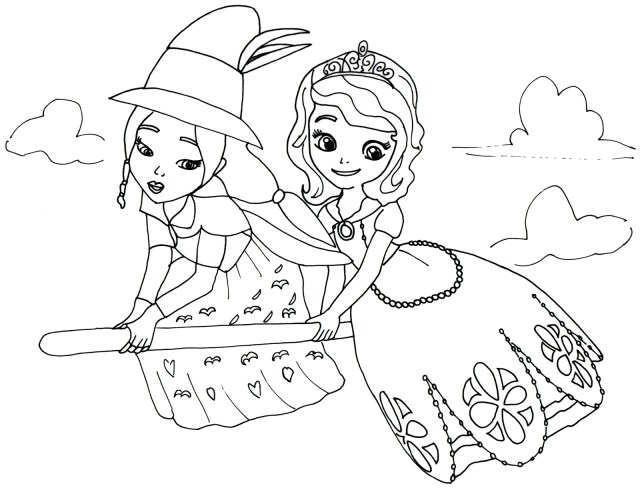 Sofia The First Coloring Page Sofia The First Coloring Pages Within Princess Gamz Me 16001225