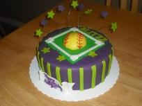 Softball Birthday Cakes Sprinklebelle Softball Birthday Cake