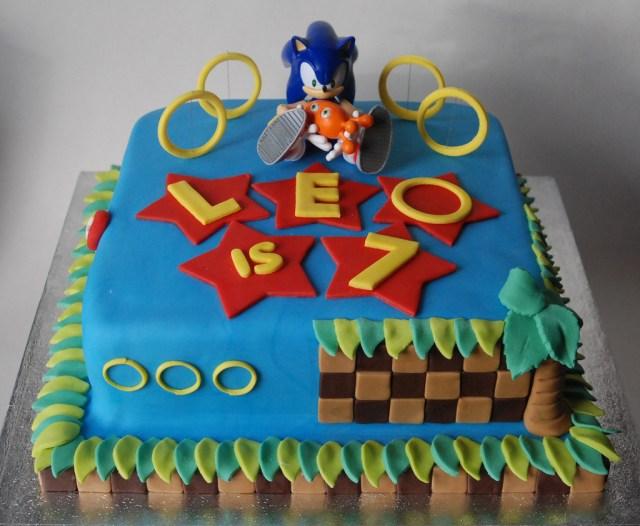 Sonic Birthday Cake Sonic Birthday Cake Lorraine Mccarroll Flickr