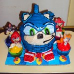 Sonic Birthday Cake Sonic Hedgehog Cake Toughspirit On Deviantart
