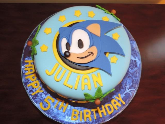 Sonic Birthday Cake Sonic The Hedgehog Birthday Cake Cakecentral
