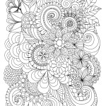 Spring Flowers Coloring Pages Spring Flowers Coloring Pages Printable Luxury Flowers Abstract