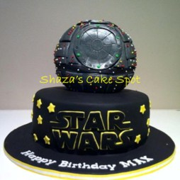 Star Wars Birthday Cakes Death Star Star Wars Birthday Cake Cakecentral