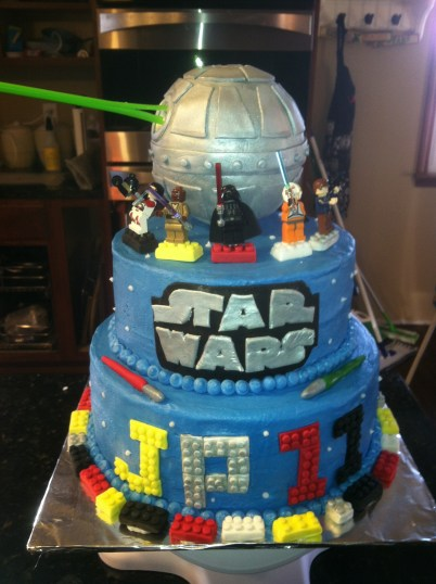 Star Wars Birthday Cakes Lego Star Wars Birthday Cakes Cakecentral