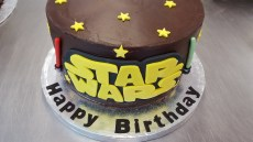Star Wars Birthday Cakes Star Wars Birthday Cake Chocolate Earth Cakes