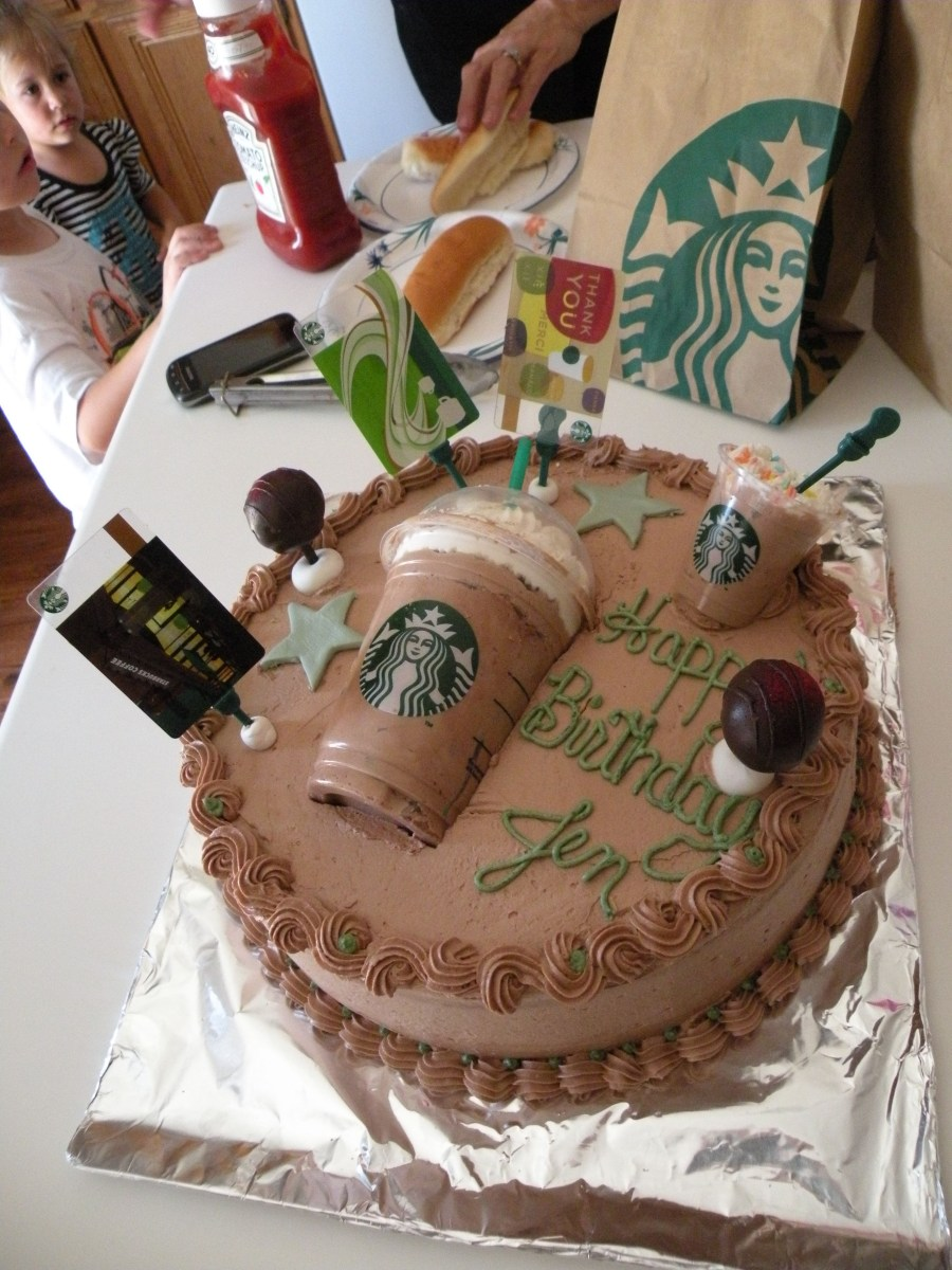 32+ Brilliant Picture of Starbucks Birthday Cake