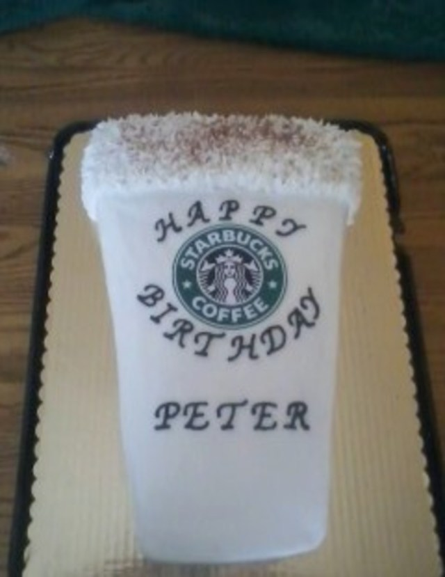 Starbucks Birthday Cake Title Starbucks Birthday Cake French Vanilla Cake With Buttercream