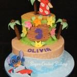 Stitch Birthday Cake Sugar Coated Bakery Lowell Baking Everyday Better