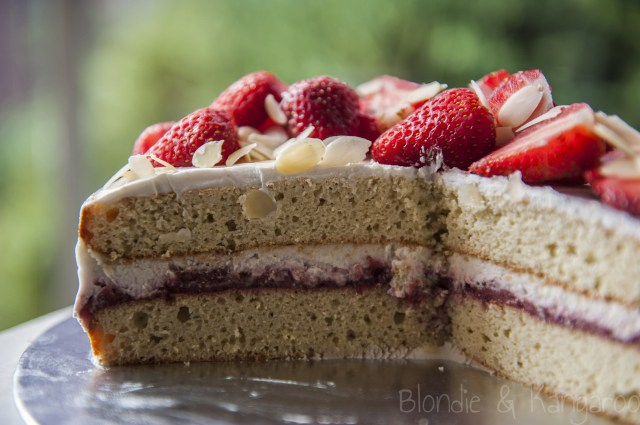 Strawberry Birthday Cakes Strawberry Birthday Cake Gluten Free Sugar Free Blondie Kangaroo